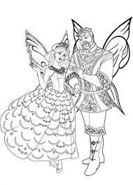 king queen flutterfield kingdom barbie mariposa colouring