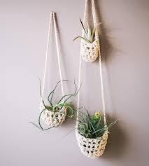 hanging planters handwoven twine hanging planter set of 3 home decor u0026 lighting