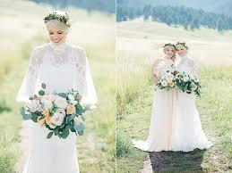 Weddings In Colorado C Boho Glam Wedding In Colorado 37 Ruffled