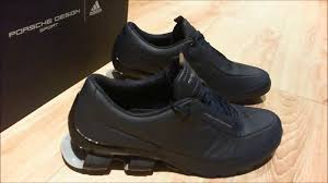 Porsche Design Sport By Adidas Bounce S4 Leather Shoes Youtube