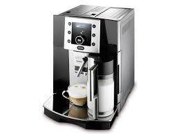 Rancilio Rocky Coffee Grinder Delonghi Esam5500b Perfecta Cappuccino Espresso Machine Black