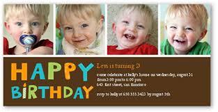 having fun boy birthday invitation 4x8 photo card shutterfly