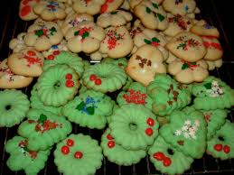 cookie press christmas cookies christmas lights decoration