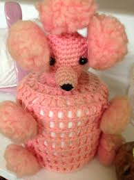 pink poodle toilet paper holder my grandma had one of these in