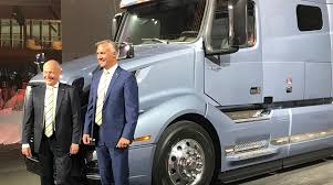 volvo truck service germany volvo leaders optimistic about truck market transport topics