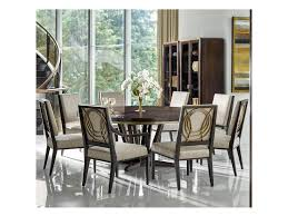 fine furniture design deco 9 piece dining set with round table