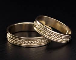 His And Hers Wedding Ring Sets by Promise Ring Set Etsy