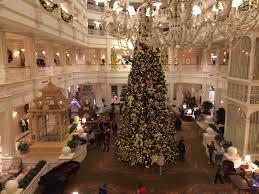 holiday decorations at walt disney world resort run the great