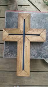 wooden crosses for crafts wood wall cross wood cross cross wall by kinnixindustrial