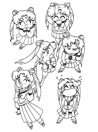 coloring page sailormoon coloring pages 62