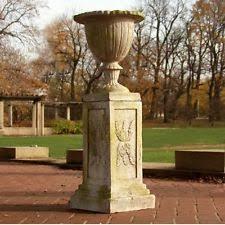 Urn Planters With Pedestal Pedestal Planter Ebay