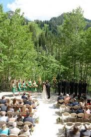 Snowbird Ski And Patio Gorgeous Summer Mountain Wedding At Snowbird Cliff Lodge Ut