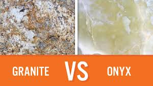 Onyx Countertops Bathroom Granite Vs Onyx Countertops Youtube