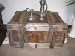 Wohnzimmertisch Weinkisten Holzkiste Weinkiste Truhe Shabby Chic Vintage Tisch Beistelltisch