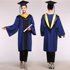 cheap cap and gown unisex academic dress bachelor clothing agricultural