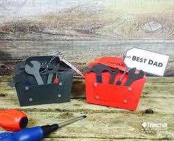 father u0027s day tool box gift box with free template tutorial