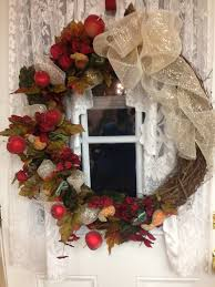 fall wreath autumn wreath grapevine wreath handmade wreath home