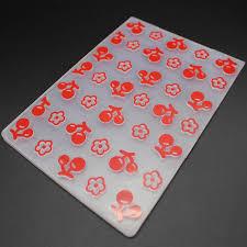 Embossing Templates Card Making - new plastic embossing folder sweet cherry template diy