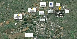 Map Of Loudoun County Va Loudoun Tech Center Sterling Va Flex Space St John Properties