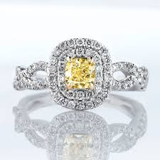 yellow engagement rings amazing canary yellow diamond engagement rings collection