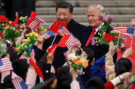 trump and xi begin talks after lavish welcome in china 28 images