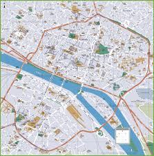 map of rouen rouen tourist map