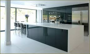 High Gloss Kitchen Cabinet Doors Glossy Black Kitchen Cabinets Modest Scheme Of High Gloss