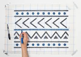 mud cloth inspired cozy latch hook rug design sponge bloglovin u0027