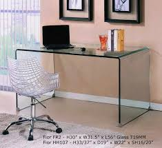 Buy Glass Computer Desk Modern Computer Table Boxbrownie Co
