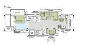 Small Rv Floor Plans 2013 Phaeton Floor Plan 36 Gh Tiffin Motorhomes Rv Motorhome