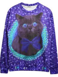 galaxy sweater sweater cats galaxy print sweatshirt jumper wheretoget