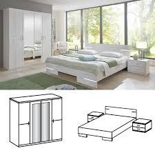 Schlafzimmer Komplett Mit Bett 140x200 Wimex Schlafzimmer Set Anna Bett 140x200 Mit 4trg Kleiderschrank
