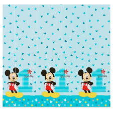 mickey mouse 1st birthday mickey mouse 1st birthday plastic table cover 5 x 9 target