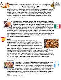 cultural readings in el dia de accion de gracias articles