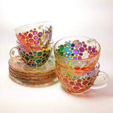 tea cup set best glass tea cup and saucer products on wanelo