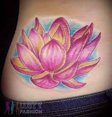japanese lotus tattoo lustyfashion