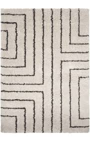 Off White Rug White Area Rug Red Black Swirl White Area Rug Carpet 5x7 Modern