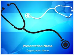 professional medical stethoscope background editable powerpoint