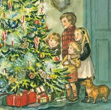 greeting cards tasha tudor and family