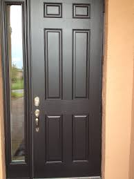 wood glass front doors 6 panel fiber glass front door with chord full lite side lite