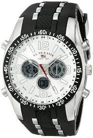 amazon black friday japan amazon com u s polo assn sport men u0027s us9061 watch with black
