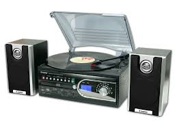 Record Player Storage Transfer Vinyl Records To Usb Convert 4 In 1 Turntable Amazon Co