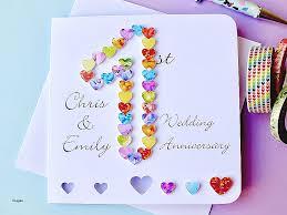 1st wedding anniversary ideas anniversary cards one year anniversary card ideas fresh 1st