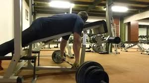 chinese barbell rows on bench 90 kg youtube