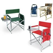 Folding Directors Chair With Side Table Lovely Folding Chair With Side Table With Sports Director Chair