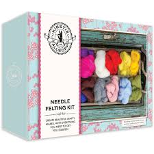 felt kits kirstie allsopp needle felting kit hobbycraft