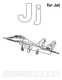 jet coloring preschool jet jets
