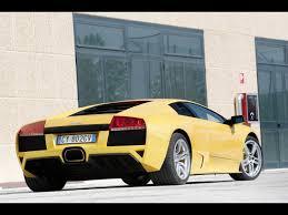 Lamborghini Murcielago Back - lamborghini murcielago lp640 yellow rear and side 1280x960