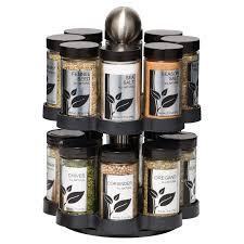 Morton And Bassett Spice Rack Kamenstein Warner 16 Jar Revolving Spice Rack Hayneedle