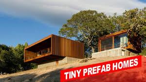 amazing tiny prefab homes california youtube